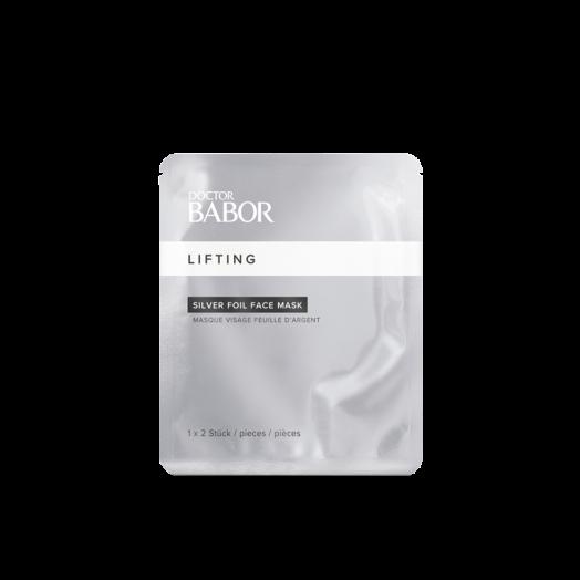Фольгированная маска / Customized Silver Foil Face Mask