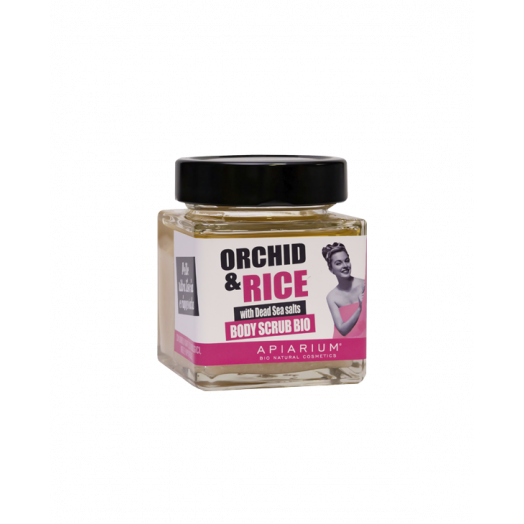 Скраб Рис и Орхидея / Rice and Orchid Body Scrub